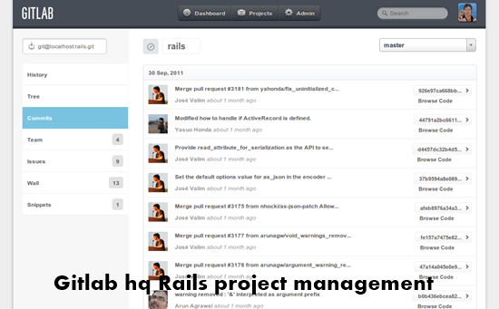 GitLab hq rails project management : Top 15 Ruby on Rails based project management software