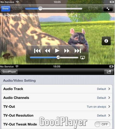 GoodPlayer - Best Mobile video players for iPhone