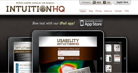 IntuitionHQ Usability Testing : 13 most useful and simple Usability Testing software