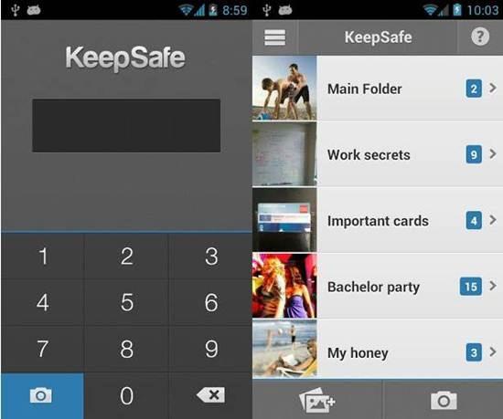 KeepSafe Vault