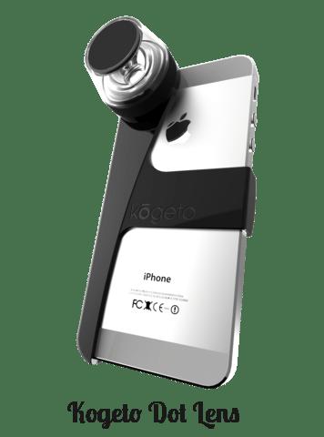 Kogeto Dot lense for iphone
