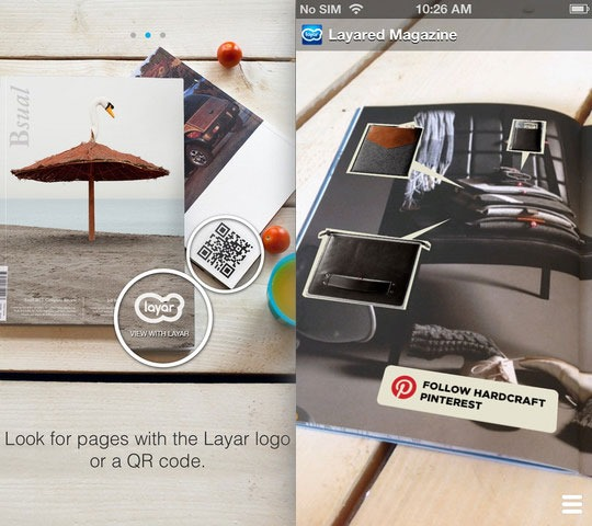 Layar - Augmented Reality iPhone Apps for Education