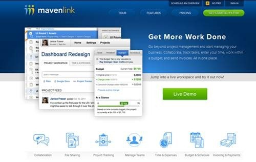 MavenLink - Binfire alternatives Apps