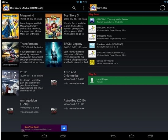 Media House UPnP- DLNA Browser app