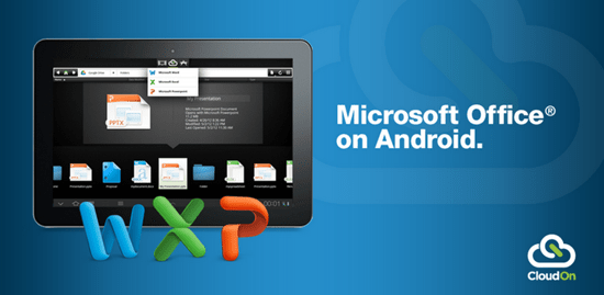 Bring Microsoft Office on Android with CloudOn