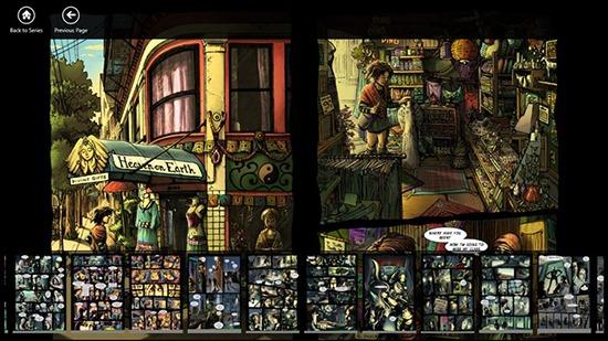 ModernComix - Comic Book Reader for Windows 8