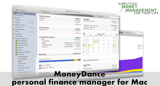 Moneydance personal finance manager