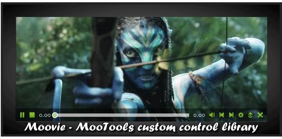 Moovie - MooTools HTML 5 video player