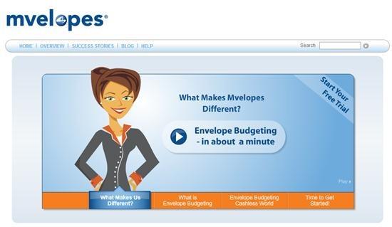 Mveleopes - online home budgeting system