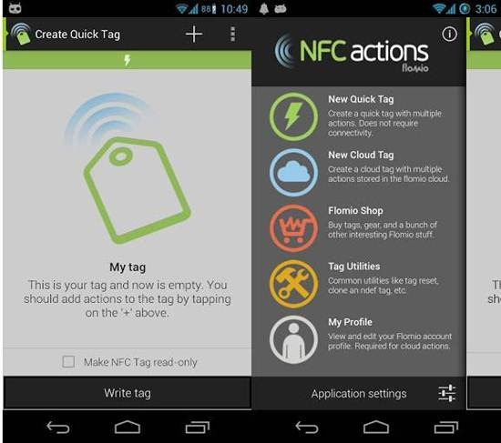 NFC Actions 7 Best Android NFC Apps