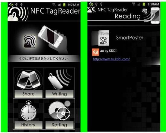 NFC TagReader 7 Best Android NFC Apps