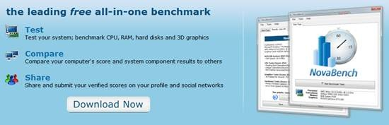 NovaBench benchmark software