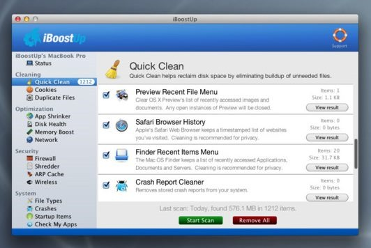 Optimize Your Mac Performance with iBoostUp (4)