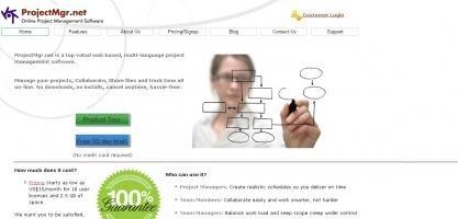 ProjectMgr.net - 10 Online Project Management Tools