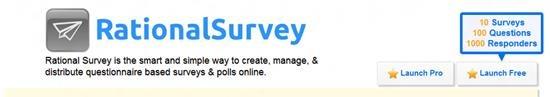 Rational survey Survey software : Top 15 online survey software and questionnaire