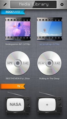 RockPlayer - Best Mobile video players for iPhone