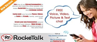 RockeTalk - 14 Best Messaging Apps for Android Devices