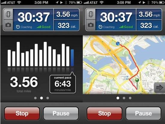RunKeeper Top 6 Health Related iPhone Apps