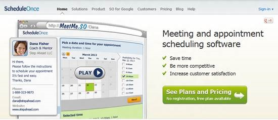 ScheduleOnce Top 16 online appointment scheduling software