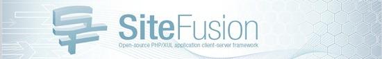 SiteFusion - client-server based application development platform