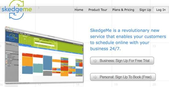 SkedgeMe - schedule appointments online