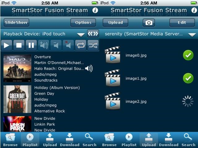 SmartStor Fusion Stream Top 14 DLNA Streaming Apps For iPhone