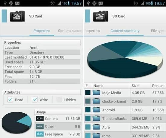 Solid Explorer Android file manager