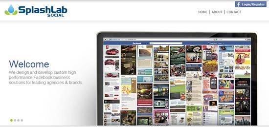 SplashLab Social 13 useful Custom Facebook Fan page builder
