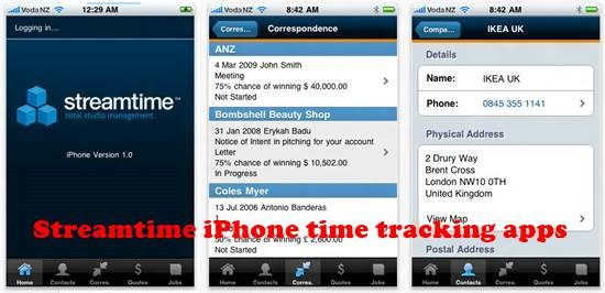 Streamtime 8 best iPhone Apps for Tracking Time on Projects