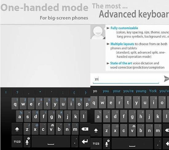Thumb Keyboard for android