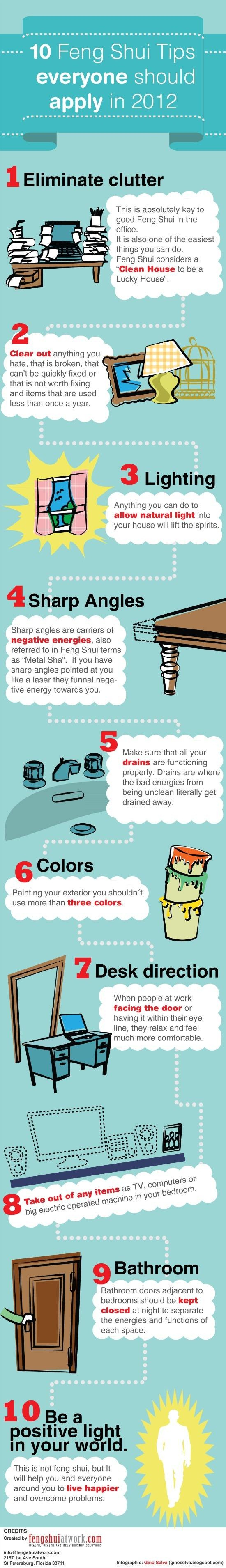 Top 10 Feng Shui Tips You Really Need [Infographic]