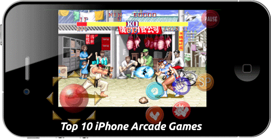 Top 10 iPhone Arcade Games