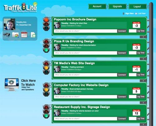 Traffik Lite Online project management service