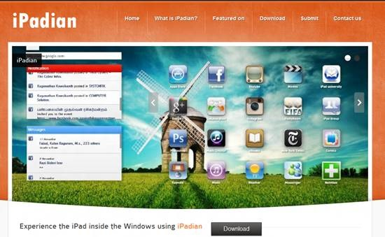 Transform Windows 7 into iPad with iPadian – Gadget Explorer