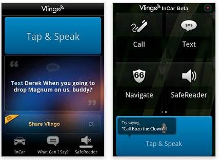 Vlingo for Android 21 useful Android Productivity apps