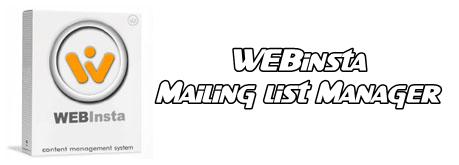 WEBinsta-Mailing-list-Manager