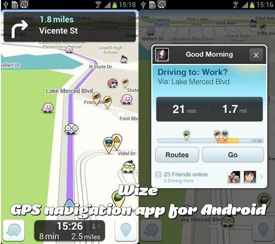 Waze GPS navigation Apps