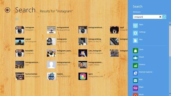 Wingram - Windows 8 App for Instagram 3