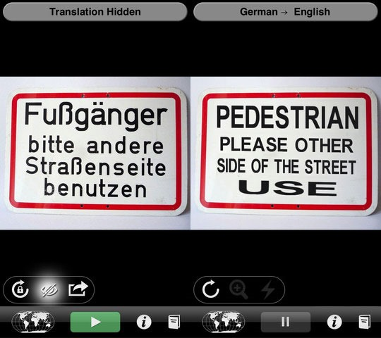 Word Lens - Augmented Reality iPhone Apps