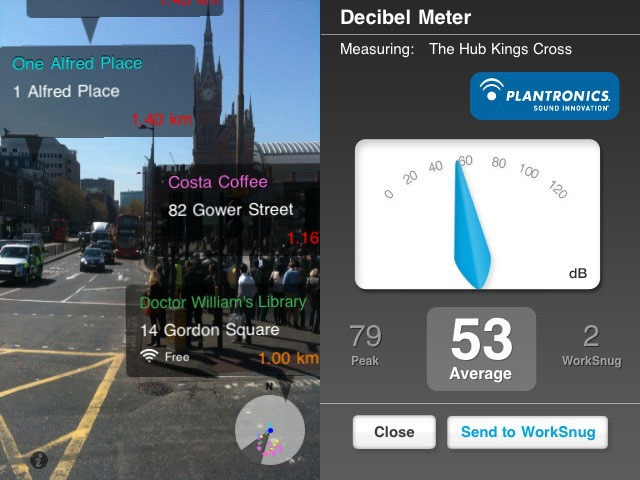 WorkSnug Pro - Augmented Reality iPhone Apps for Education