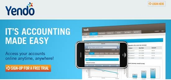Yendo small business accounting software