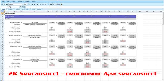 ZK-Spreadsheet