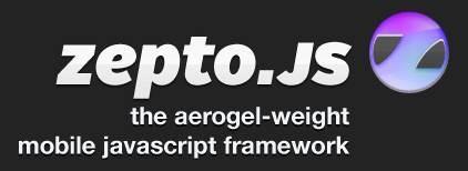 Zepto-js -mobile JavaScript framework