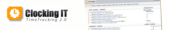 clockingIT rails project management : Top 15 Ruby on Rails based project management software