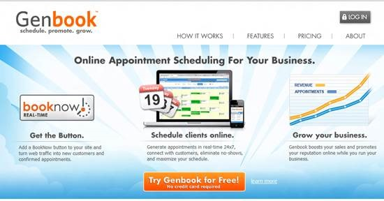 genbook Top 16 online appointment scheduling software