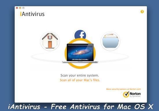 iAntivirus - Free Antivirus for Mac OS X