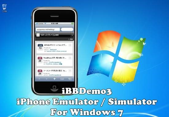 iBBDemo3 – iPhone Emulator / Simulator For Windows 7 – Gadget Explorer