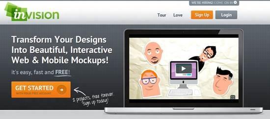 invisionapps 5 Tools for Collaborative Web Design