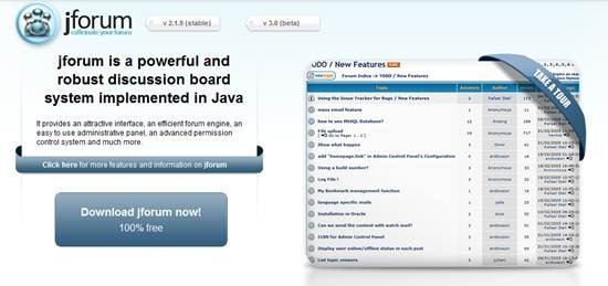 jforum discussion board system