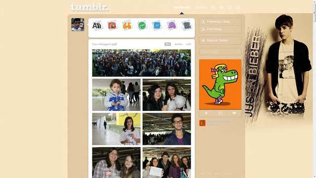 justin bieber 49 Useful Tumblr dashboard theme for Tumblr User